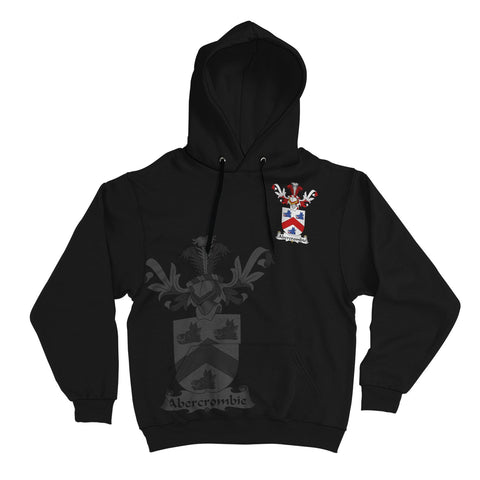 Abercrombie Family Crest Hoodie (Women's/Men's) | Over 1200 Crests | Clothing | Apparel