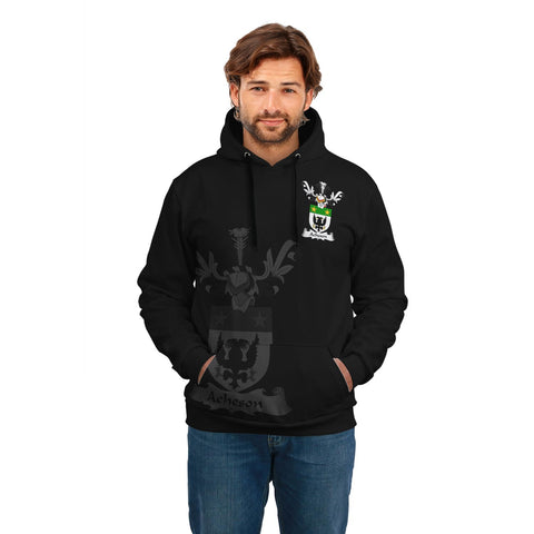 Acheson Family Crest Hoodie (Women's/Men's) | Over 1200 Crests | Clothing | Apparel