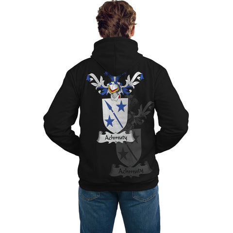Achmuty Family Crest Hoodie (Women's/Men's) | Over 1200 Crests | Clothing | Apparel