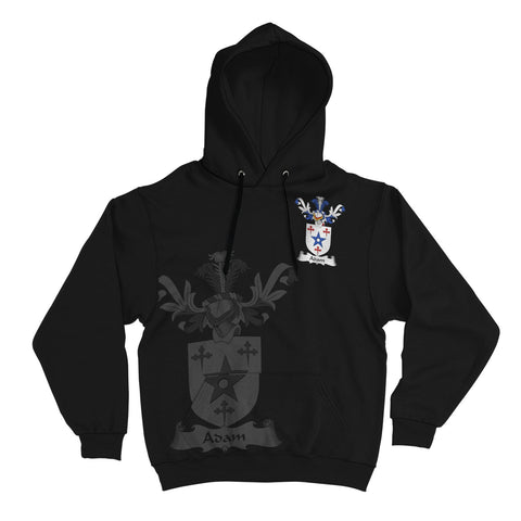Adam Family Crest Hoodie (Women's/Men's) | Over 1200 Crests | Clothing | Apparel