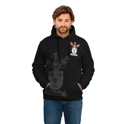 Image of Adamson Family Crest Hoodie (Women's/Men's) | Over 1200 Crests | Clothing | Apparel