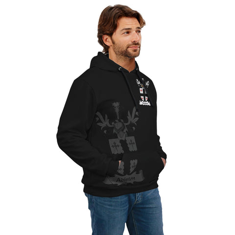 Adiston Family Crest Hoodie (Women's/Men's) | Over 1200 Crests | Clothing | Apparel