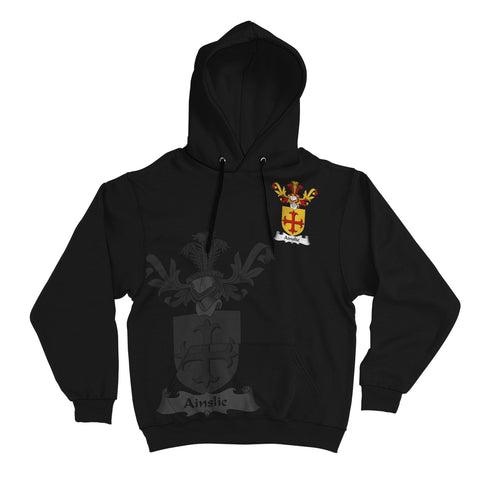 Ainslie Family Crest Hoodie (Women's/Men's) | Over 1200 Crests | Clothing | Apparel