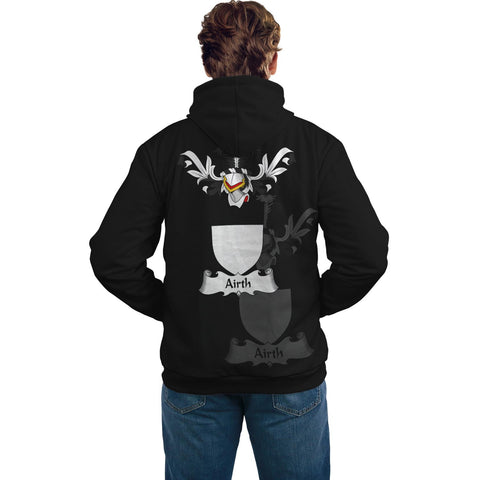 Airth Family Crest Hoodie (Women's/Men's) | Over 1200 Crests | Clothing | Apparel