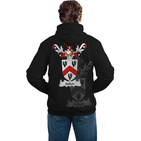 Image of Aitken Family Crest Hoodie (Women's/Men's) | Over 1200 Crests | Clothing | Apparel
