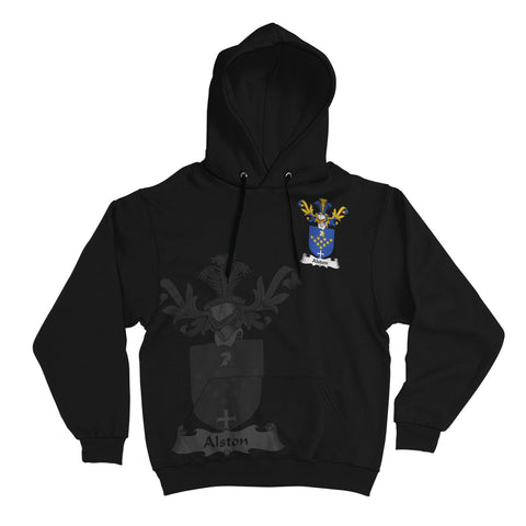 Alston Family Crest Hoodie (Women's/Men's) | Over 1200 Crests | Clothing | Apparel