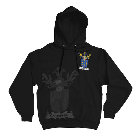 Somerville Family Crest Hoodie (Women's/Men's) | Over 1200 Crests | Clothing | Apparel