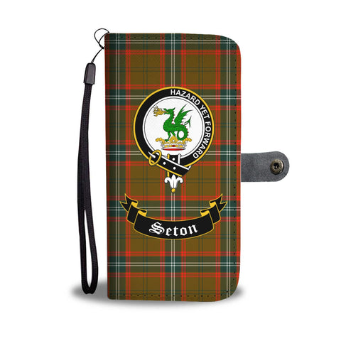 Image of Tartan Wallet Case - Seton Clan A9