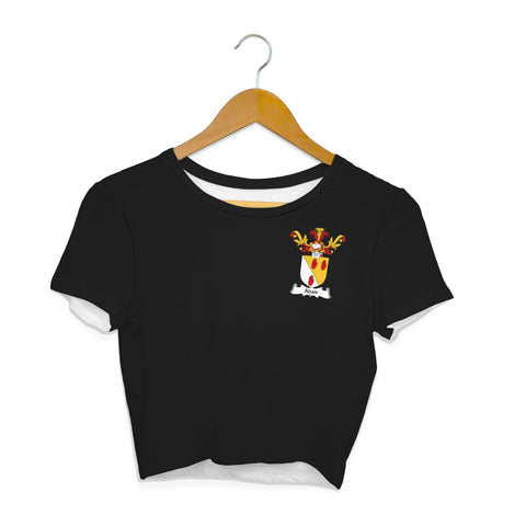 Adair Family Crest Crop T-Shirt | Over 1200 Crests | Clothing | Apparel