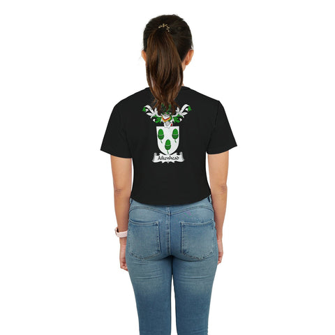 Aikenhead Family Crest Crop T-Shirt | Over 1200 Crests | Clothing | Apparel