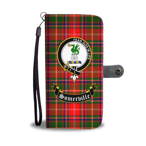 Tartan Wallet Case - Somerville Clan A9