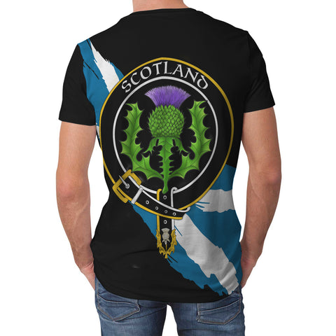 Congilton Crest Scottish Thistle Flag Scotland T-shirt | Over 300 Clans