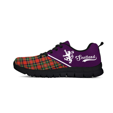 Scotland Rising Sneakers (Purple)