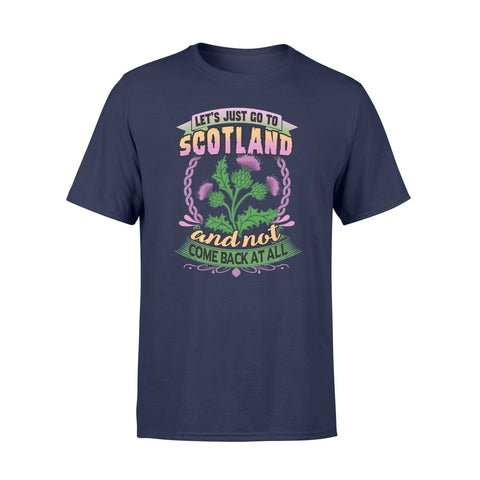 Image of Thistle Flower Premium T-shirt