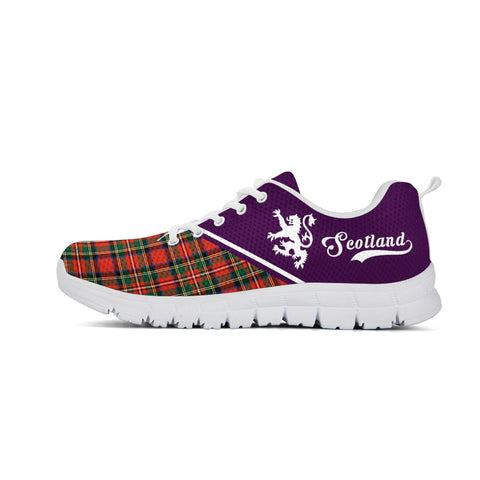 Image of Scotland Rising Sneakers (Purple)