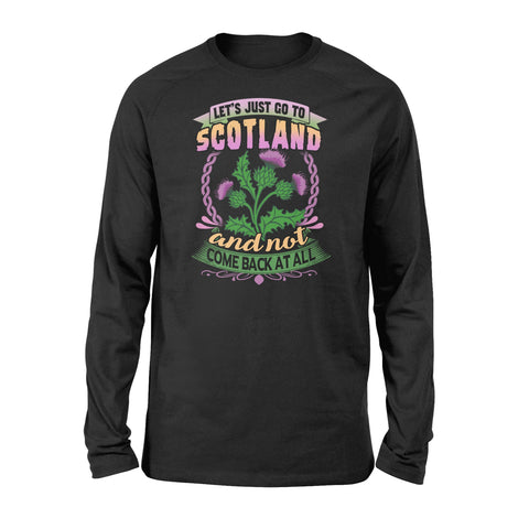 Thistle Flower Premium Long Sleeve