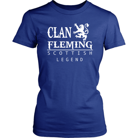 Clan Fleming Scottish Legend T-Shirts And Hoodies | Exclusive Over 300 Clans | Love Scotland