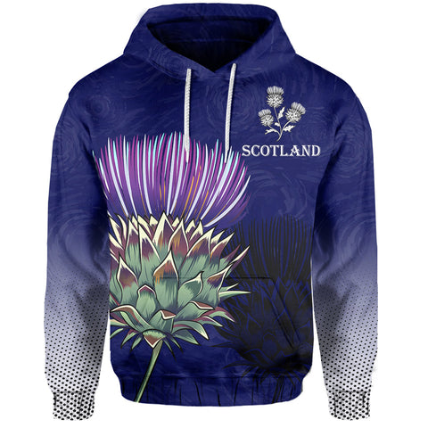 Scottish Thistle - Flower of Scotland Hoodie | 1stscotland.com
