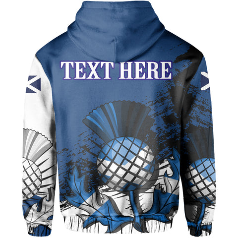 Custom - Scotland Zipper Hoodie Special Version