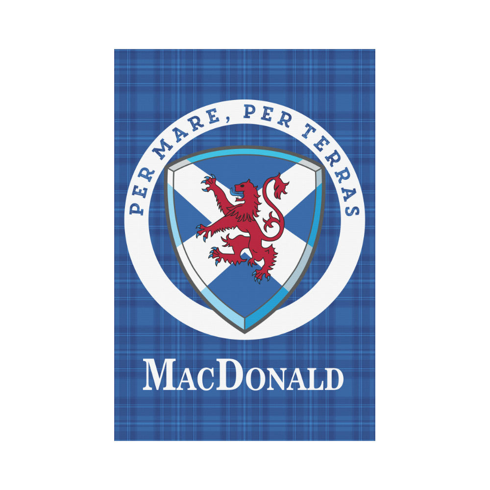 8b4fc46dd MacDonald - clan Donald Scottish Garden Flag | Scotland Clans | Hot ...