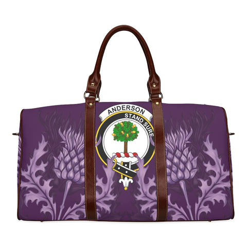 Image of Anderson Crest Scottish Thistle Scotland Travel Bag A7