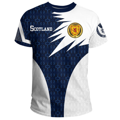 Image of 1stScotland T-Shirt - 1991 Style (Version 2.0) A7