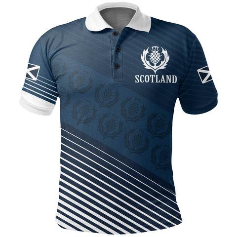 Image of Scotland Pride Polo Shirt Special Edition | Women & Men | 1stscotland