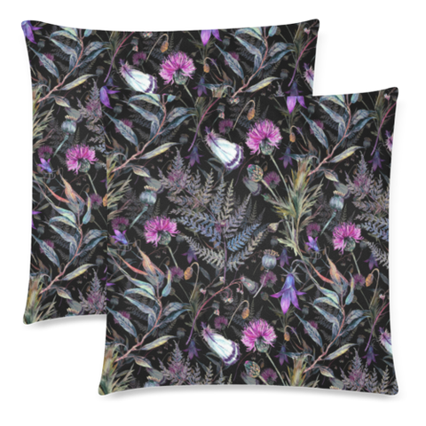 Dark Thistle - Pillow Covers| Special Custom Design