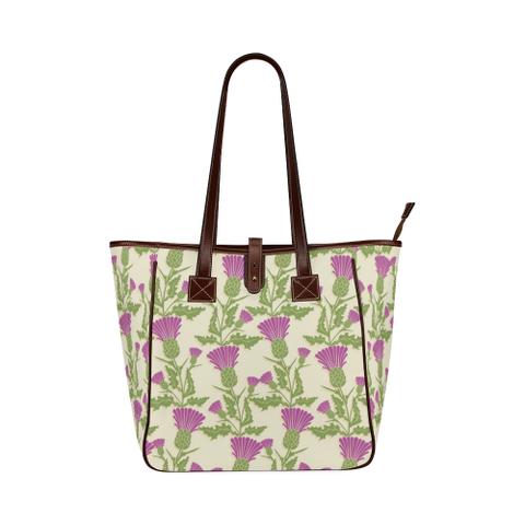Thistle Pattern 04 - Classic Tote Bag | HOT SALE