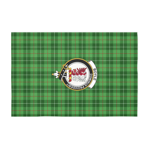 Boyle Crest Tartan Tablecloth | Home Decor