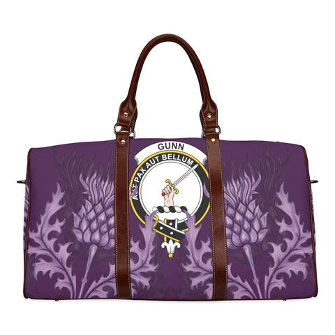 Gunn Crest Scottish Thistle Scotland Travel Bag A7