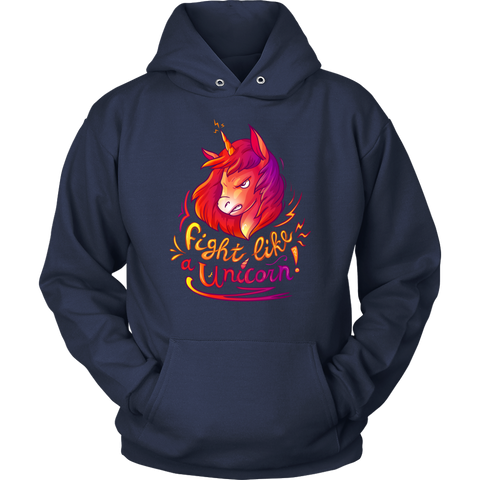 Image of Fight Like a Unicorn - Scotland T-shirt And Hoodies | HOT Sale