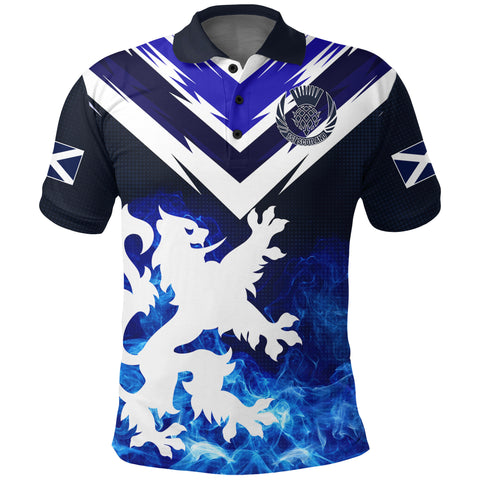 Image of 1stScotland Polo Shirt Scottish Lion - New Release A7