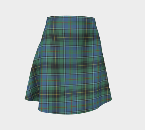 Tartan Flared Skirt - MacInnes Ancient |Over 500 Tartans | Special Custom Design | Love Scotland