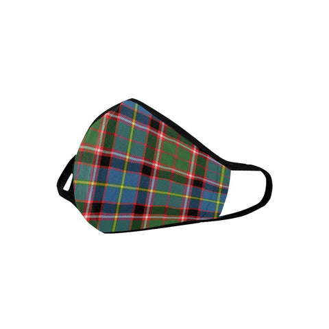 Image of Aikenhead Tartan Mouth Mask With Filter | 1stScotland