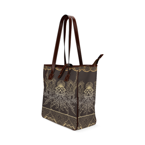 Thistle Pattern - Classic Tote Bag | Special Custom Design