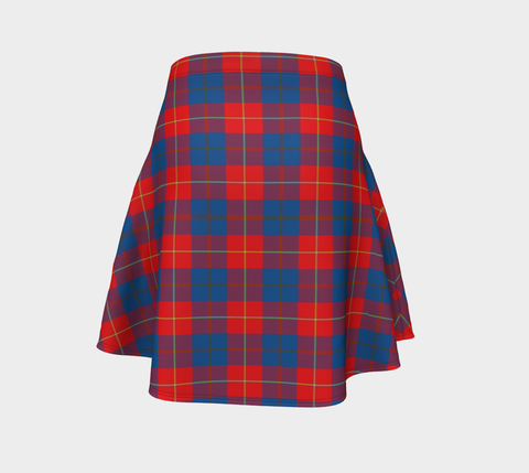 Tartan Flared Skirt - Galloway Red |Over 500 Tartans | Special Custom Design | Love Scotland