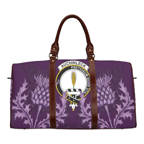 Auchinleck or Affleck Crest Scottish Thistle Scotland Travel Bag A7