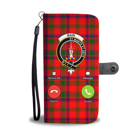 Tartan Wallet Case - Bain Is Calling A9