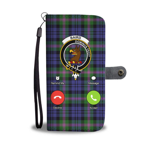 Tartan Wallet Case - Baird Is Calling A9