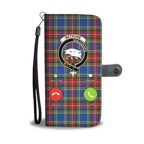 Image of Tartan Wallet Case - Bethune Is Calling A9