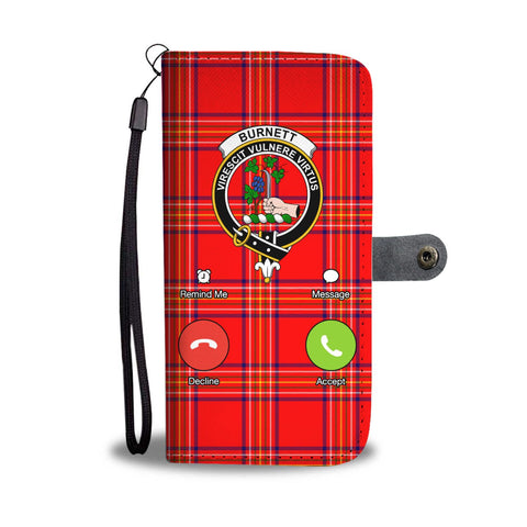 Tartan Wallet Case - Burnett Is Calling A9