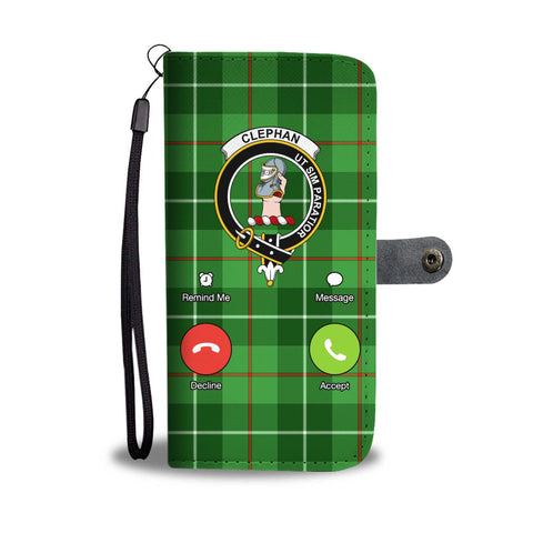 Tartan Wallet Case - Clephan (Or Clephane) Is Calling A9
