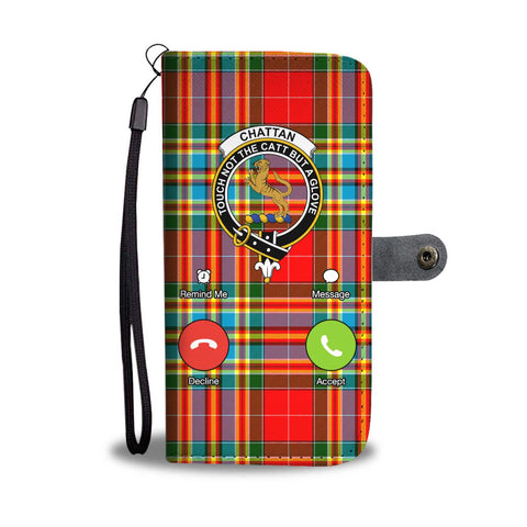 Image of Tartan Wallet Case - Chattan Is Calling A9