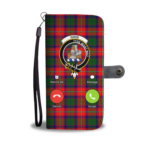 Image of Tartan Wallet Case - Haig Is Calling A9