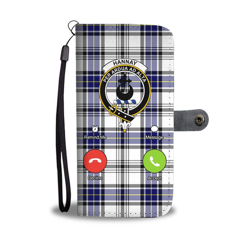 Image of Tartan Wallet Case - Hannay Is Calling A9