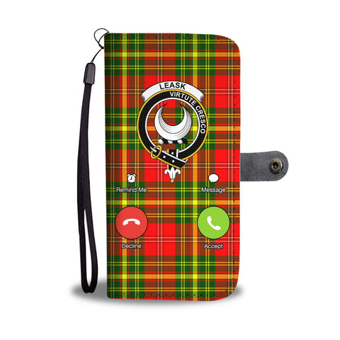 Tartan Wallet Case - Leask Is Calling A9
