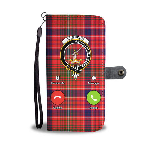 Tartan Wallet Case - Lumsden Is Calling A9
