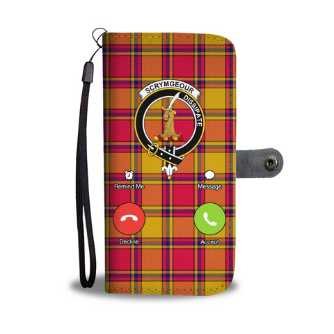 Tartan Wallet Case - Scrymgeour Is Calling A9