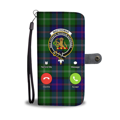 Tartan Wallet Case - Macthomas Is Calling A9